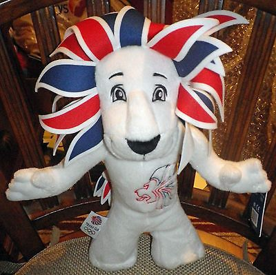 """Bnwt 12"""" pride the lion team gb soft toy #official london #olympics 2012 #mascot,  View more on the LINK: http://www.zeppy.io/product/gb/2/131809975787/"""