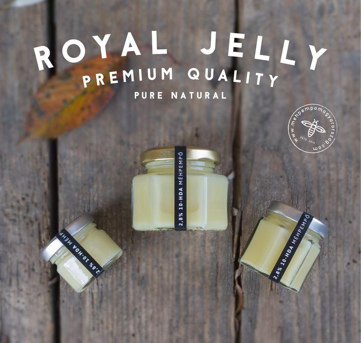 PREMIUM Méhpempő 2,8%10-HDA savval, PREMIUM Royal Jelly 2,8% 10-HDA. Tiszta mehpempo, termeloi mehpempo.