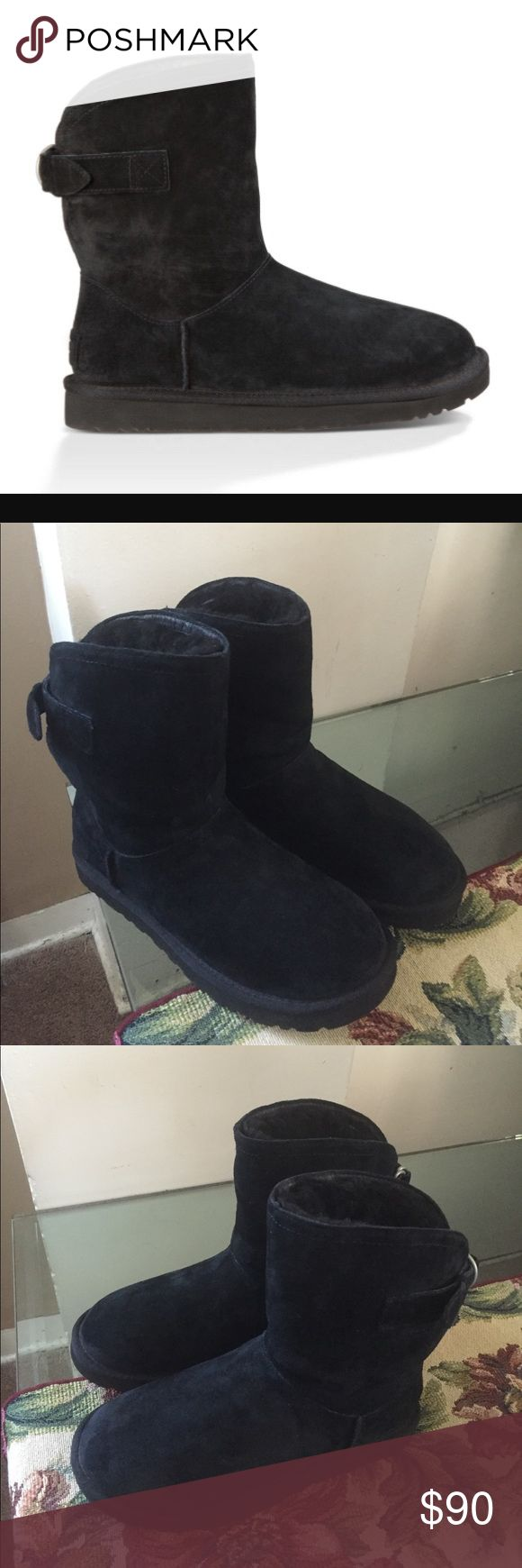 NEW UGG REMORA BLACK Ugg remora black. New no box. UGG Shoes Ankle Boots & Booties