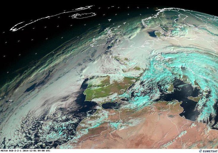 @InfoEmerg Una mirada al tiempo... así está el ambiente: Imagen satélite #Meteosat 09:00 UTC (10:00 hora local) #FMA