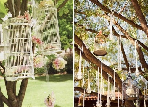 Outdoor Wedding Ceremony Decoration Under A Tree