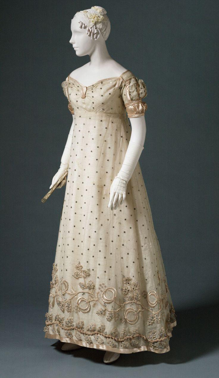 Woman's Evening Dress, 1817