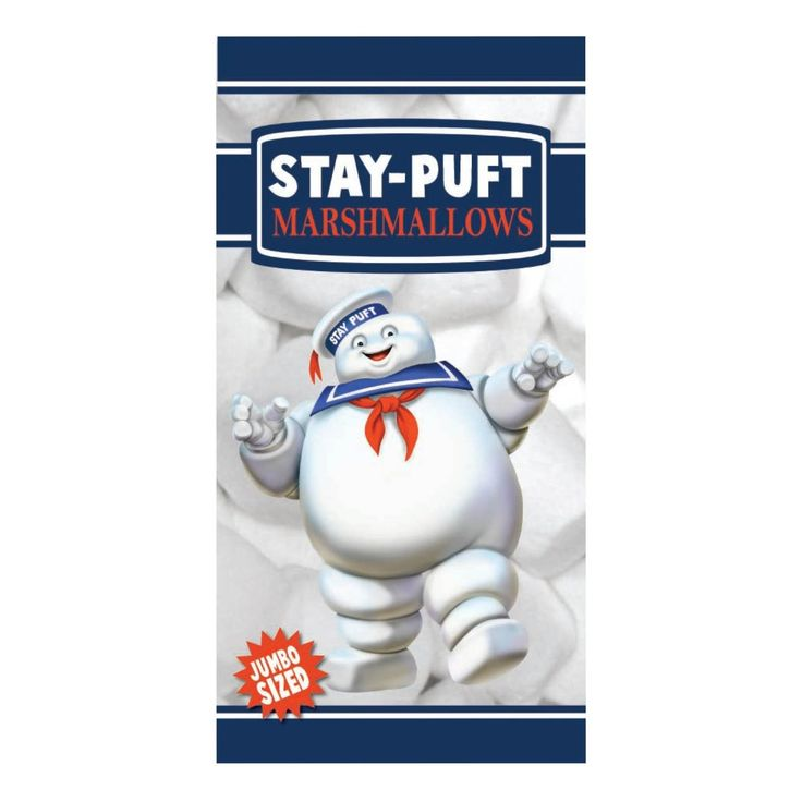 #transformer factory entertainment ghostbusters stay puft marshmallow man beach towel