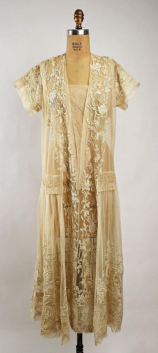 Dress, ca. 1920 Culture: American Medium: cotton
