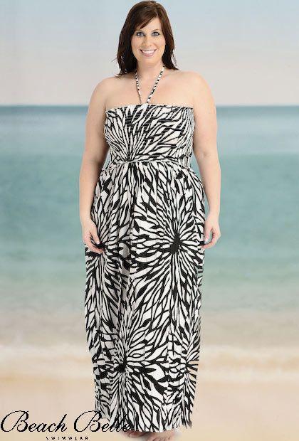 Vestidos de moda para  gorditas: primavera/verano 2011