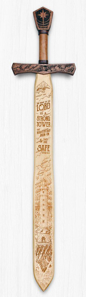 "This decorative wall hanging will brighten your home, give it as a gift to friends or family. Proverbs 18:10 says ""The name of the LORD is a strong tower, the righteous run in and they are safe."" The"
