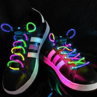 yes: Glow Running, Feet Long, Glow Sticks, Battery Power, Pairings Multi Colors, Led Lights, Led Shoelace, Waterproof Shoelace, Multi Colors Led