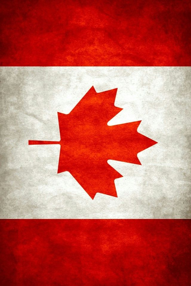 Canada Flag iPhone 4 Wallpaper
