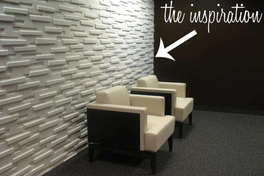 Great idea projects pinterest modular walls wall treatments and diy and crafts - Cool wall treatments ...