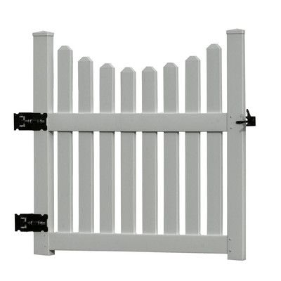 new england arbors cottage picket gate home depot canada