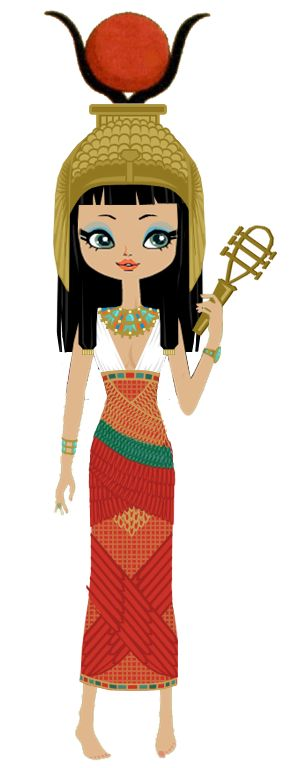 Egyptian Goddess Hathor by marasop.deviantart.com on @deviantART