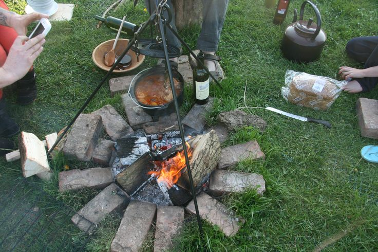 www.gypsycaravanbreaks.co.uk outdoor cooking