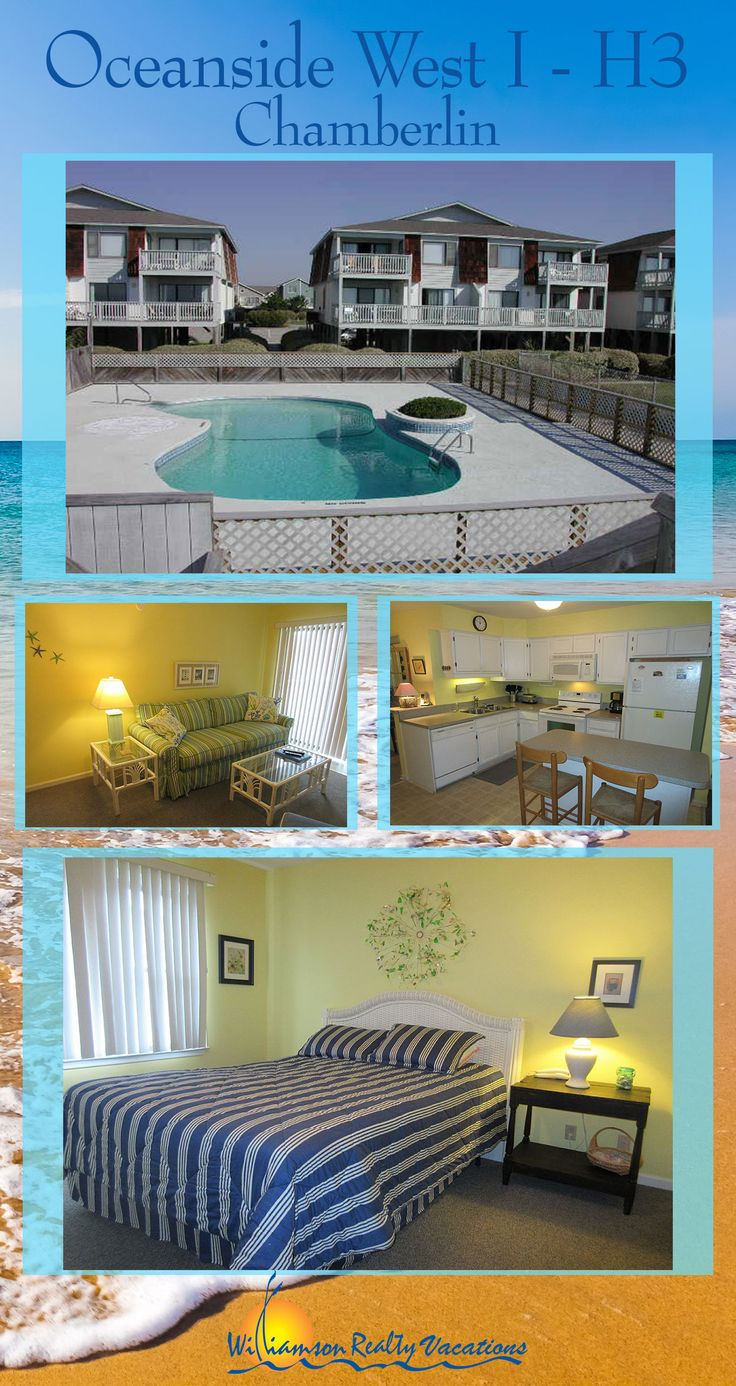 Thinking about a last minute getaway to Ocean Isle Beach, NC? This 3 bedroom, oceanfront condo is discounted to $885/week through October 31! Make reservations now!