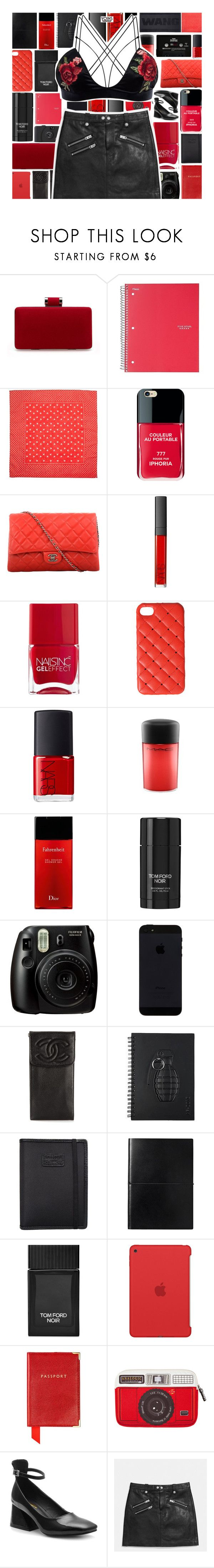 """""""YOINS"""" by xgracieeee ❤ liked on Polyvore featuring Five Star, Madewell, Iphoria, Chanel, NARS Cosmetics, Nails Inc., 2Me Style, MAC Cosmetics, Christian Dior and Tom Ford"""