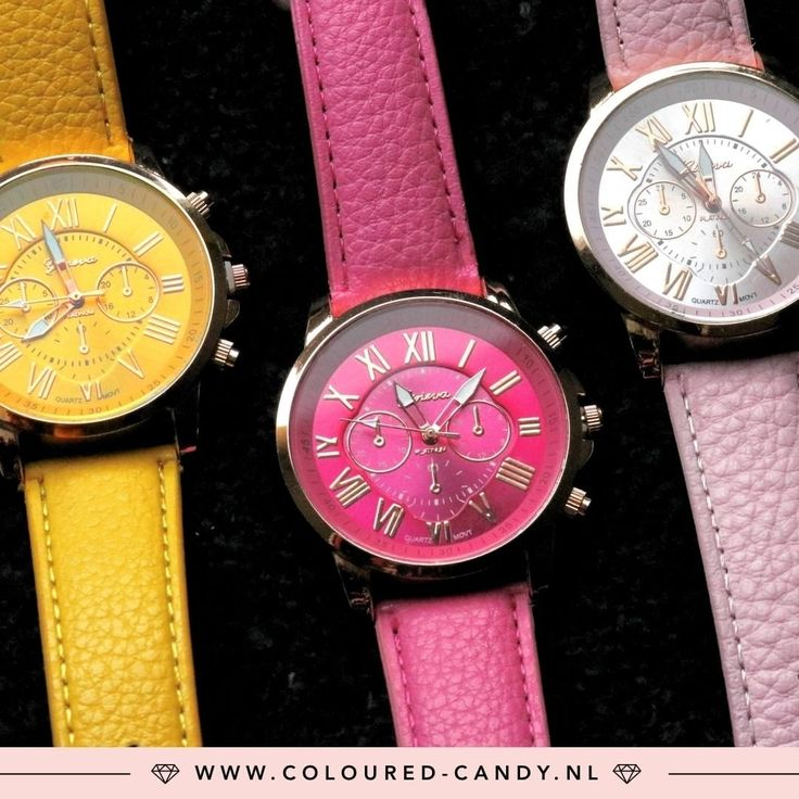 WAUW ➳ https://www.coloured-candy.nl/gouden-horloges  Wauw, wat een leuke kleurrijke klokjes! ♡♡ #colouredcandy #sieraden #jewelry #watch #rosegold #armcandy #jewellery #color #sale #winter #trend #shop #gold #fashion #mode #style #love #beauty #jewelrygram #fashionista #trendy #beautiful #quotes #shop #fashiongram #instagood #shopping #musthaves #bijoux #accessories
