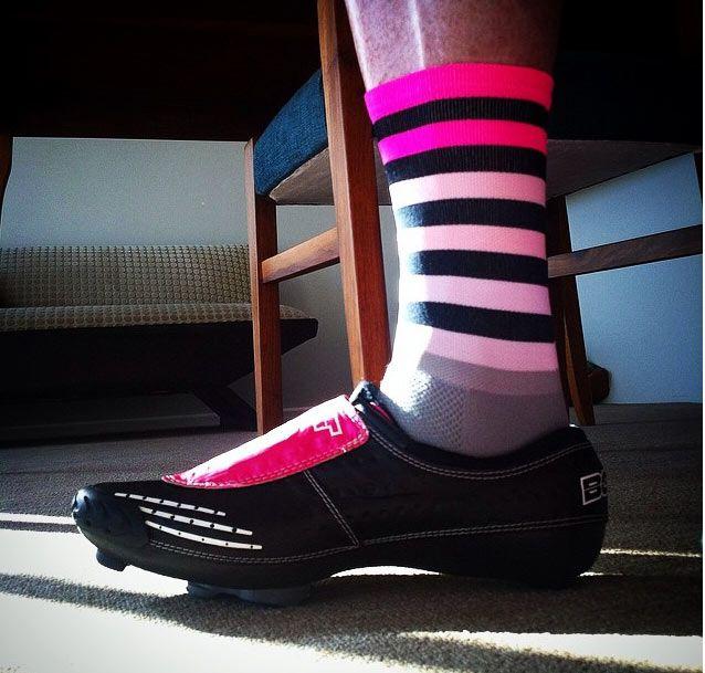 Fade to Grey Pink | sako7socks