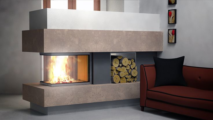 Spartherm Arte u70 with modern covering
