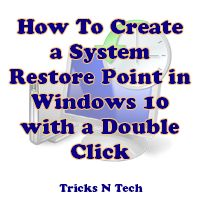 How to create a system restore point in Windows 10? With our simple & step by step tutorial, you will get information about creating system restore point.