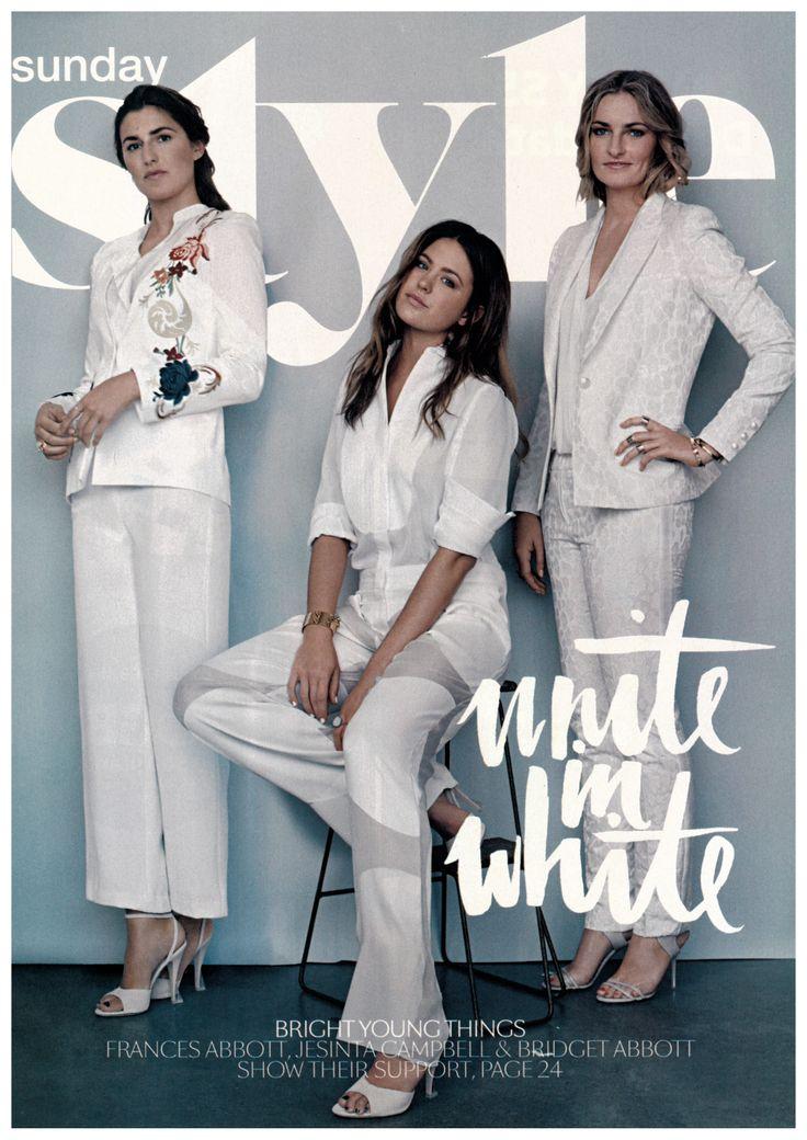 OLE LYNGGAARD COPENHAGEN in Sunday Style Magazine - The White Issue styled by Rachel Wayman.