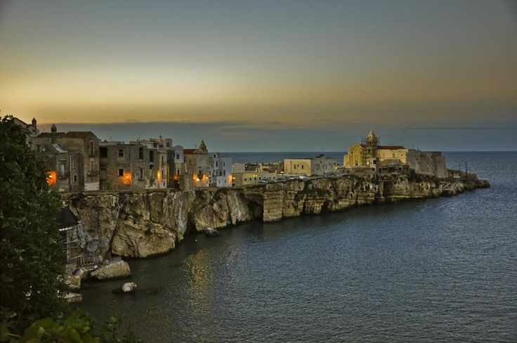 #Vieste, Italy: the #Hotel i Melograni is in this fascinating town!