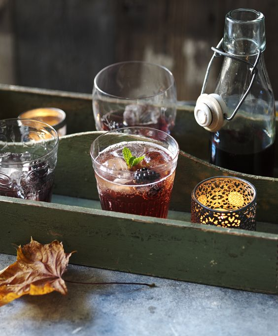 With the addition of American cream soda, this sloe gin cocktail is very sweet and drinkable