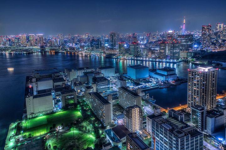 Tokyo+Night+View