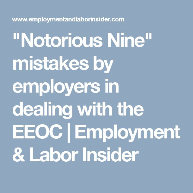 Best Eeoc Images On   Infographics Labor Law And Federal