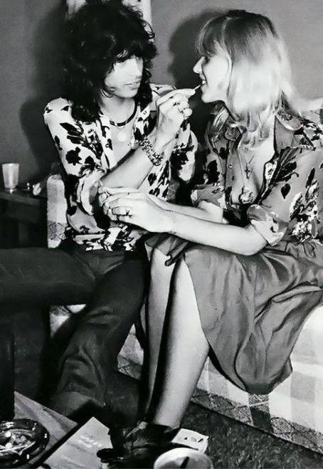 Cyrinda Foxe and Steven Tyler