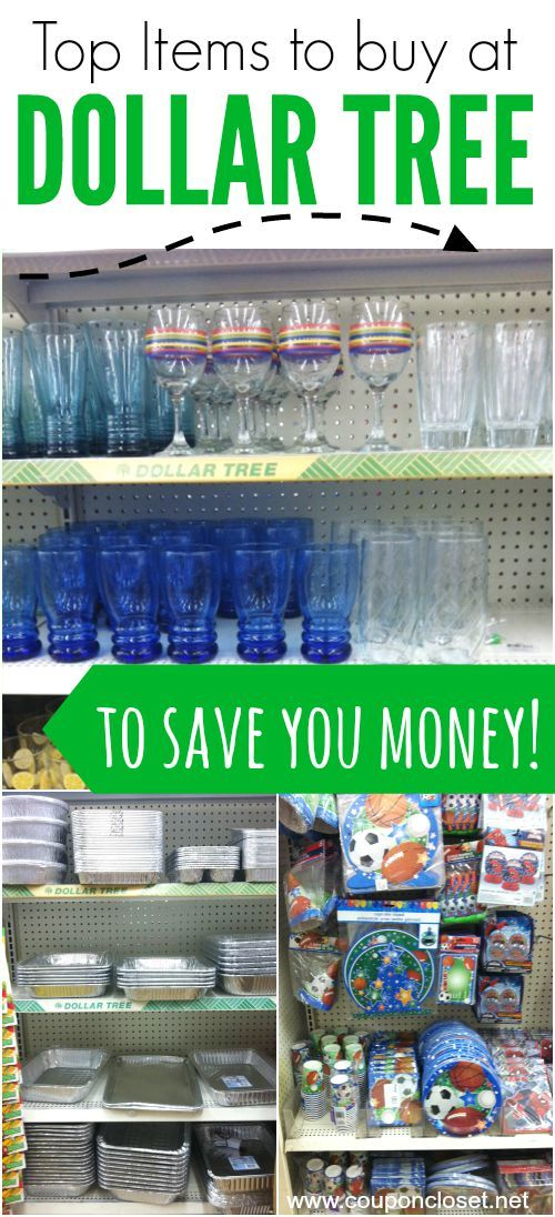 What to buy at the Dollar Tree Store to save you money  - here are my favorite items that will save you money. What do you buy there?