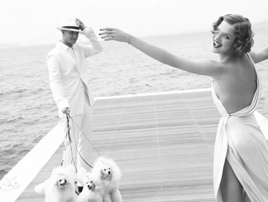 Poodles: Mario Testino, Dogs Fashion, Antiques Photos, Natalia Vodianova, White, Inspiration Pictures, Nataliavodianova, Hair Style, Bath Beautiful