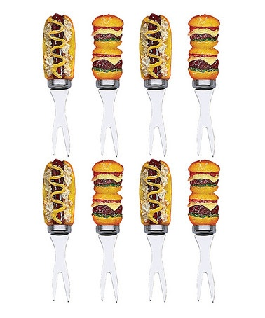Take A Look At This Hot Dogs U0026 Hamburgers Corn Pick Set By Patio Party: