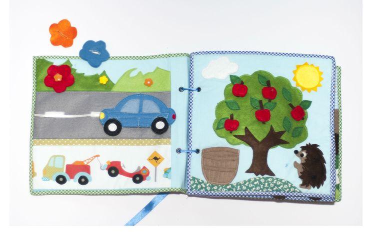 Quiet book auto a strom
