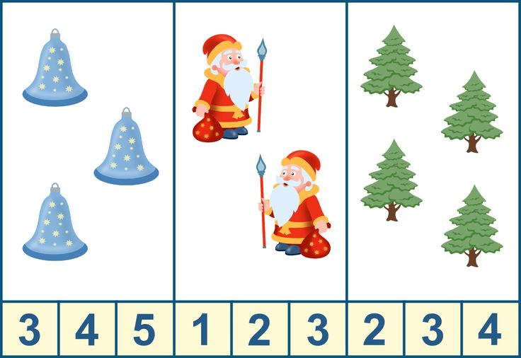 Занятия для детей 3-4 лет новый год