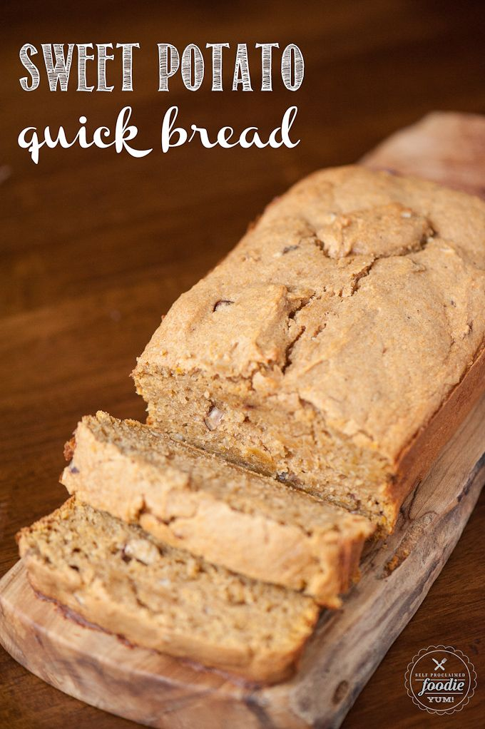 Sweet Potato Quick Bread http://livedan330.com/2015/12/06/sweet-potato-quick-bread/
