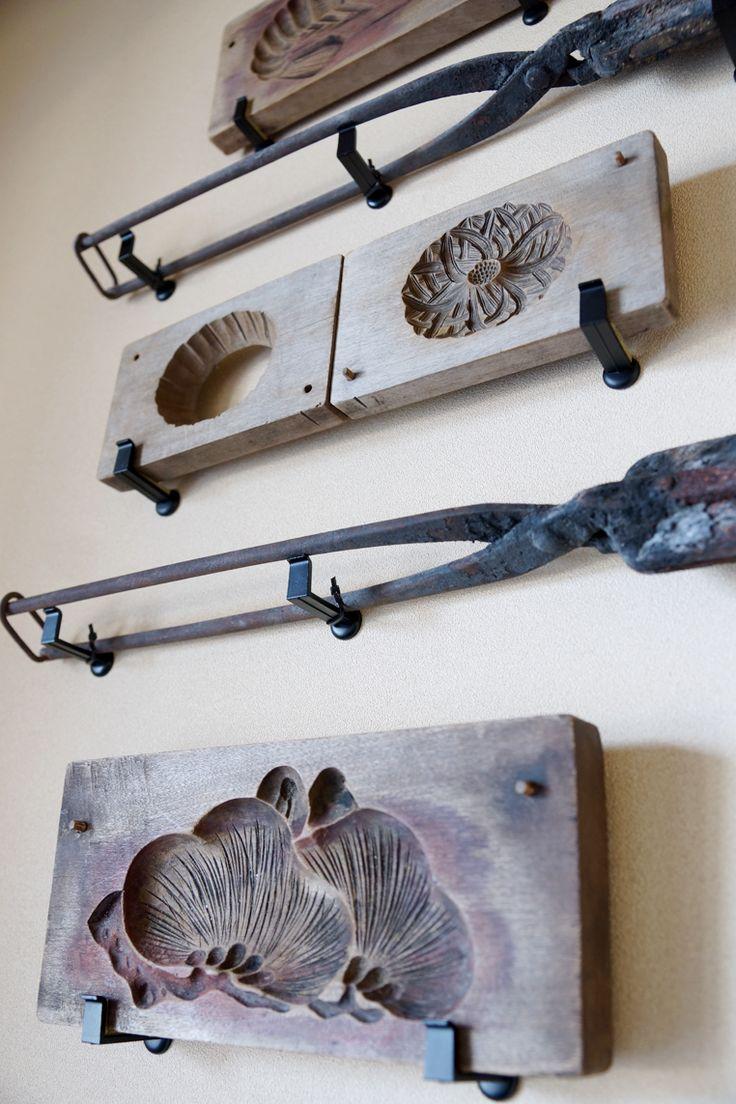 玄関の古道具