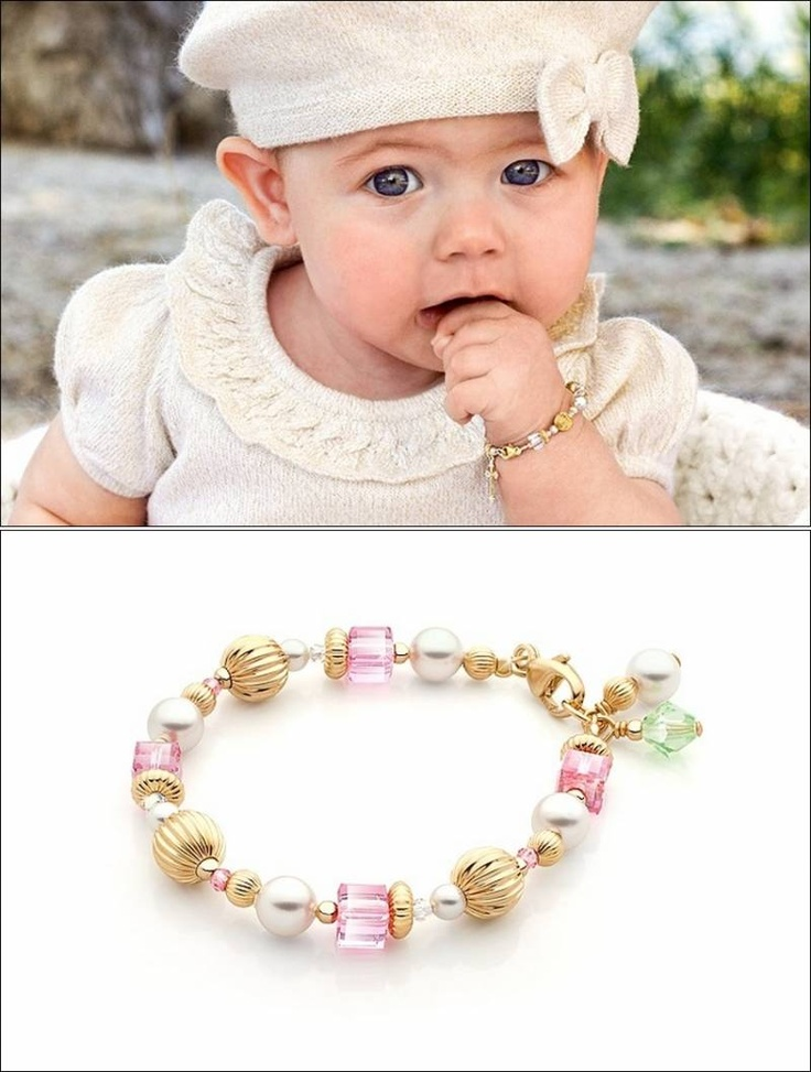 Adorable Bracelets For Your Baby Girl !