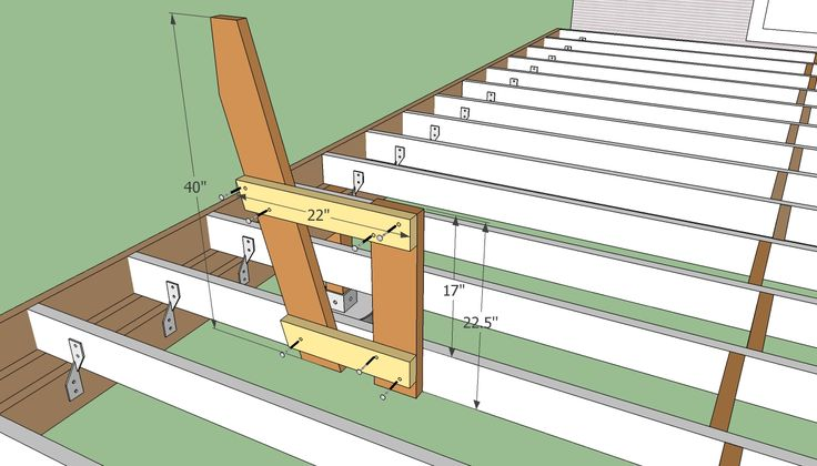 outdoor deck plans   Deck Bench Plans Free   HowToSpecialist - How to Build, Step by Step ...