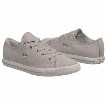 Lacoste 25 Shoes (Lt Grey Canvas) - Women's Shoes - M