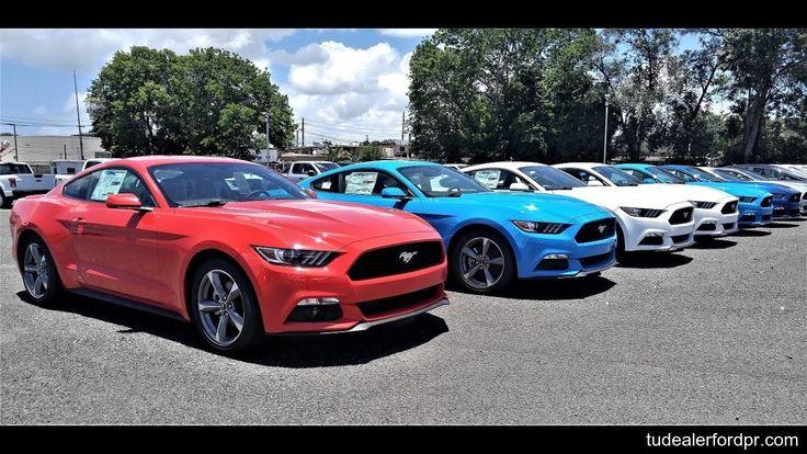 Nuevo Ford Mustang V6 2017 ///Desde $31,995\\\  Con una potencia de 300 Caballos de Fuerza es el mejor y más atractivo deportivo por su bajo precio, tecnología, potencia y seguridad en su categoría. Incluye asientos en microfibra, cámara de reversa y sensores de aproximación, sistema de sonido SYNC activado por comandos de voz y Blutooth, ... (Unidades con transmisión automática con selección de cambios para conducción manual o semi automática). Llame Hoy Mismo Al (787) 221-3890…