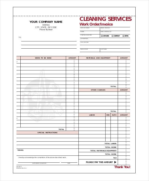 Moving Company Invoice Template Free Best Template Collection In 2020 Invoice Template Moving Company Best Templates