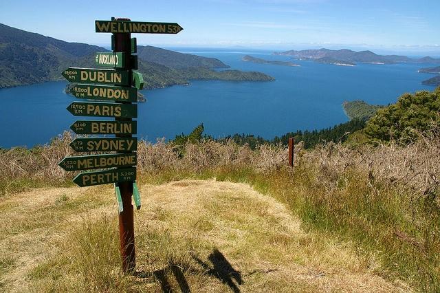 Long distance, Marlborough Sounds