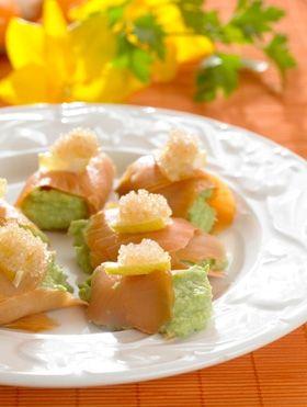 Lakseruller udgør skønne snacks til dine gæster