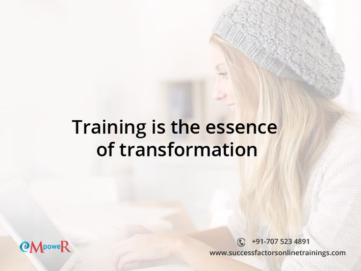 Want to be a successful professional? Then training is must and learning #sapsuccessfactors can be new transformation in the career of business management.