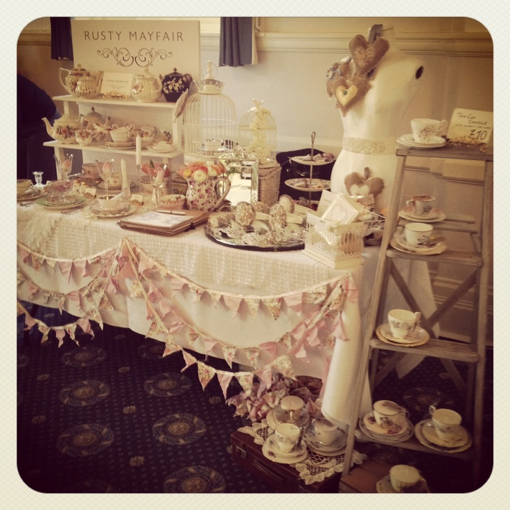 Wedding Fair Ideas: Vintage Wedding Fair Vintage Crockery Hire Wedding