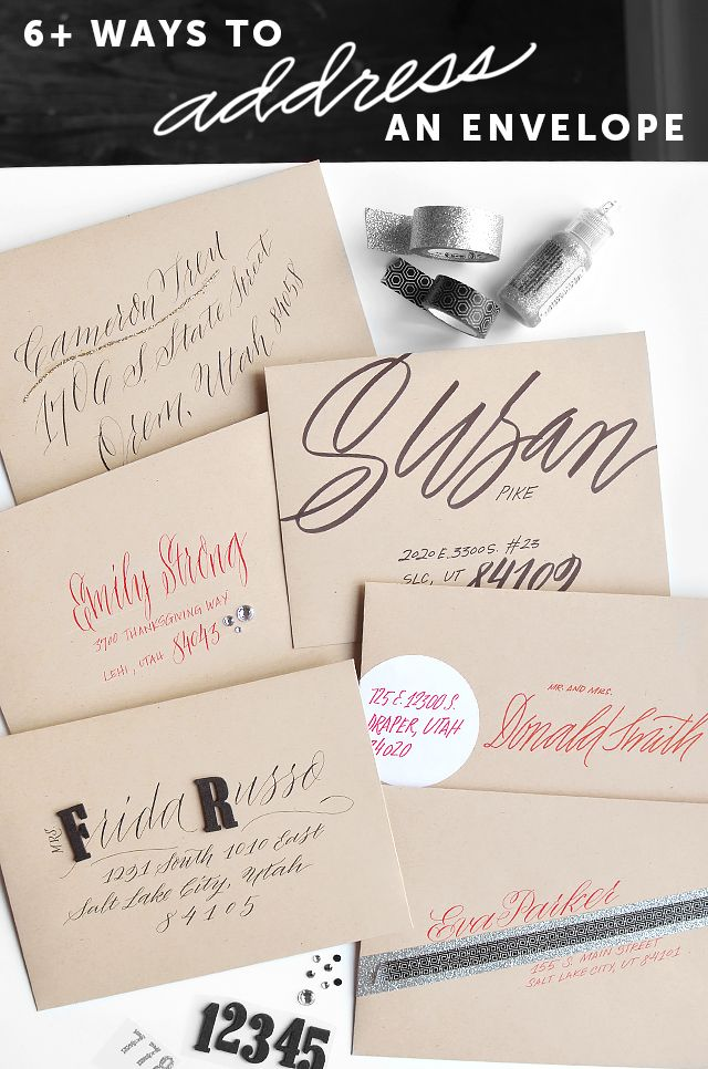236 best calligraphy hand lettering images on pinterest fonts 6 ways to address an envelope thecheapjerseys Gallery
