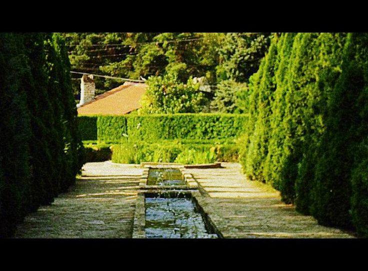 Botanic garden at Queen Maria of Romania's castle in Balcik