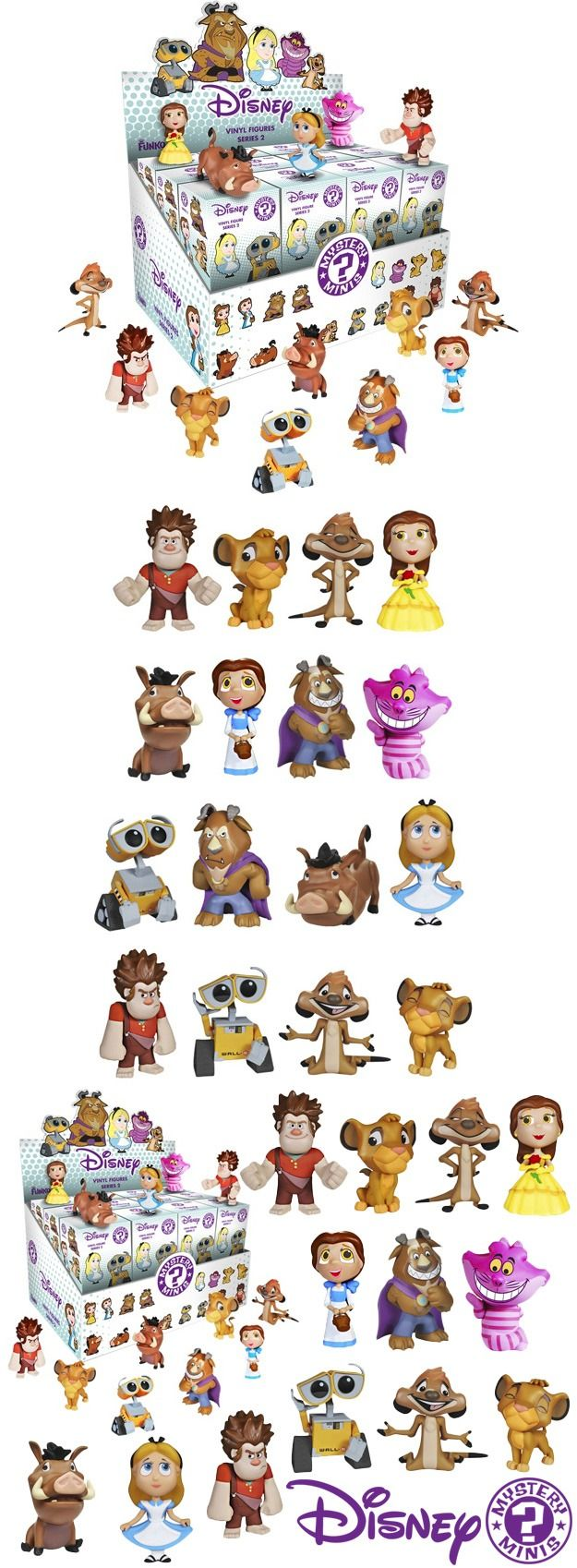 Disney Series 2 Mystery Minis Vinyl Figure Blind Boxes by Funko
