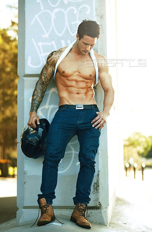 Zac Smith Hot Fitness Model Burbujas De Deseo 06 Zac Smith: Hot Fitness Model. Simon Le Photos