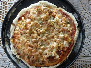 Ancika konyhája: home made pizza :)
