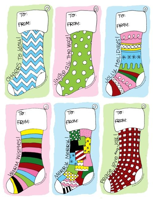 christmas labels: Christmas Gifts Tags, Holidays Gifts Tags, Diy Gifts, Handmade Gifts, Free Christmas, Christmas Stockings, Free Printable, Christmas Tags, Christmas Printable